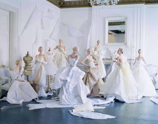 U.S. American Vogue Tim Walker Grace Coddington Charles James Paper dresses
