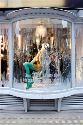 Browns Christmas Windows South Molton Street London