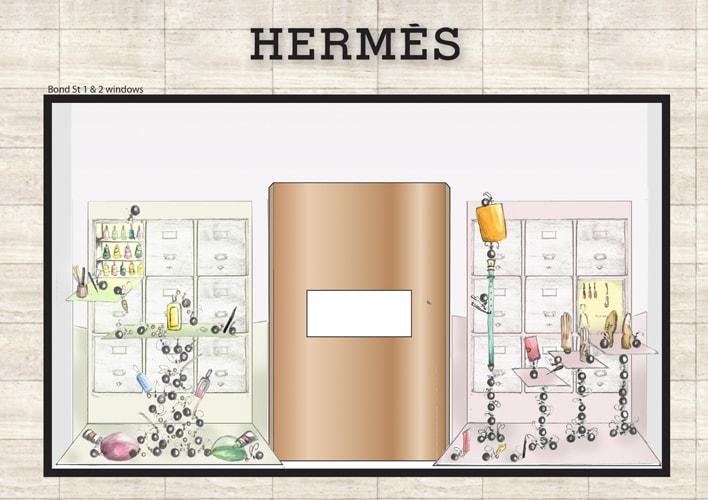 Hermes Ants Sketches