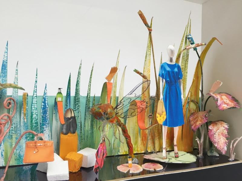 Hermes Dubai Mall Installation