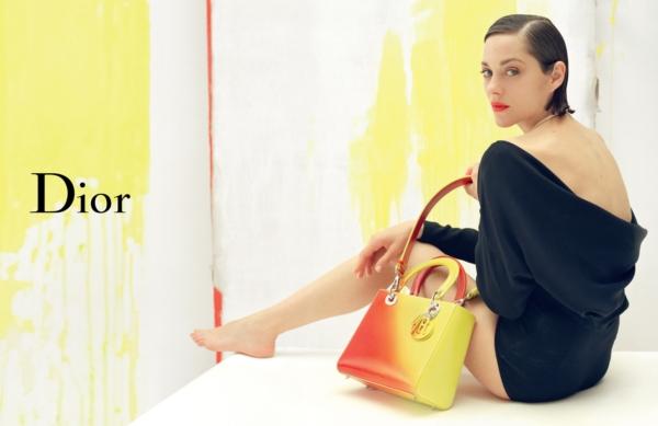Lady Dior Tim Walker Marion Cotillard