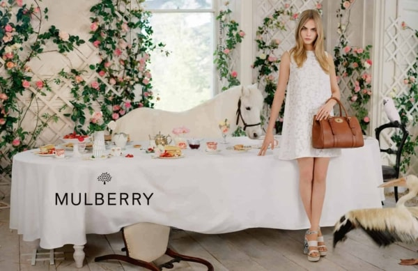Mulberry SS14 Tim_Walker Cara Delevigne