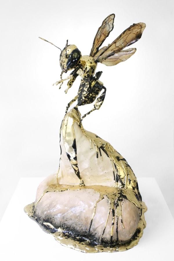 Queen Tar Bee Sculpture Bittersweet