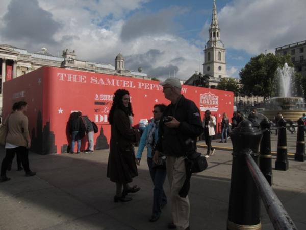 Trafalgar Square Installation London