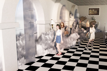 The House of Peroni Cloud Installation Model