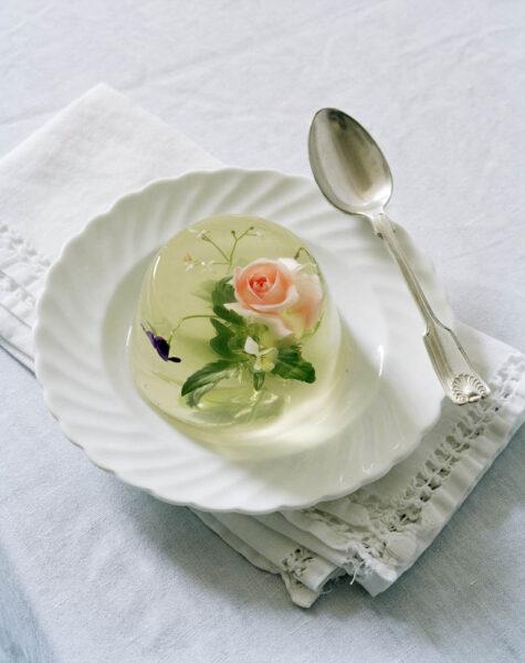 Tim Walker Italian Vogue Edible Flower Jelly