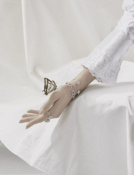 Town and Country Magazine Butterfly jewelry