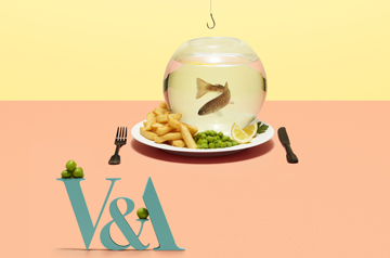 V&A Food Bigger than the Plate Exhibition Poster