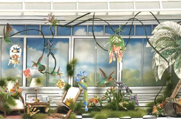Peter Jones and Wedgwood Window Chelsea Flower Show