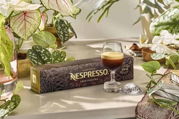 Nespresso Sumatra Still Life