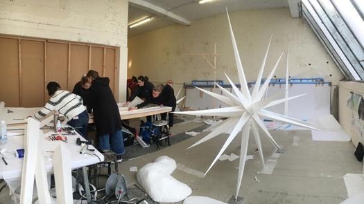 Swarovski Star Installation
